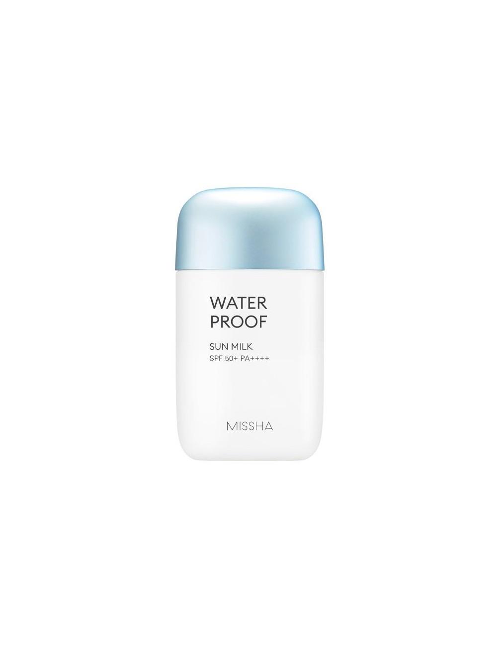 Crema Solar Missha All Around Safe Block Waterproof Sun Milk SPF50+/PA++++