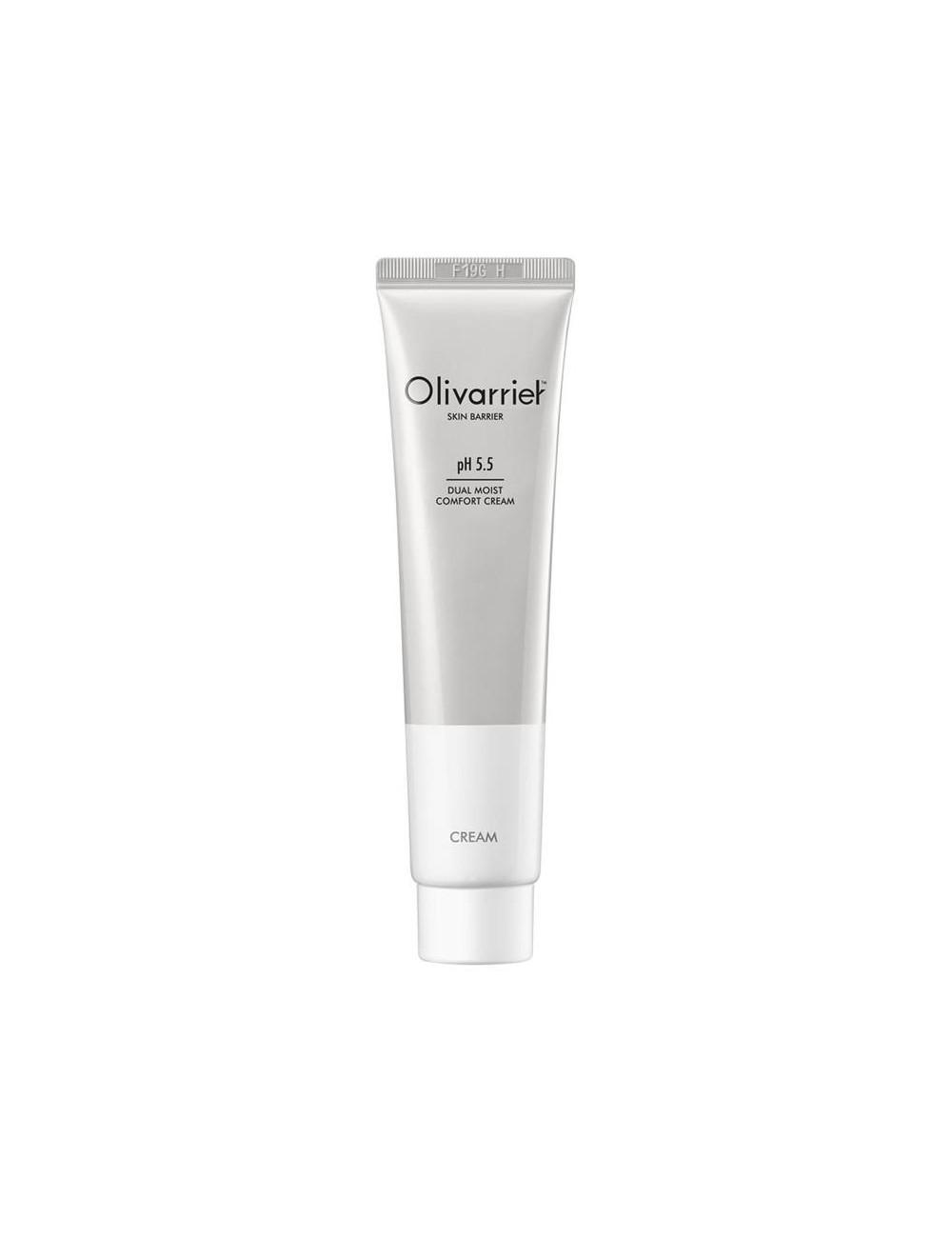 Crema con Ácido Hialurónico Vegana - Olivarrier Dual Moist  Comfort Cream