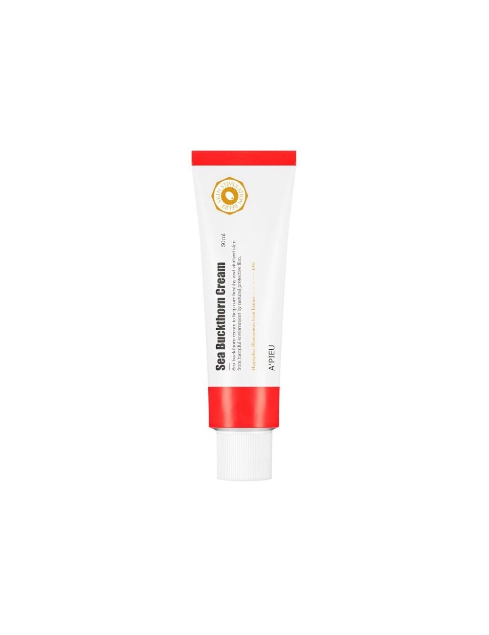 Crema Hidratante con Vitaminas  A'pieu Shea Buckthorn Cream