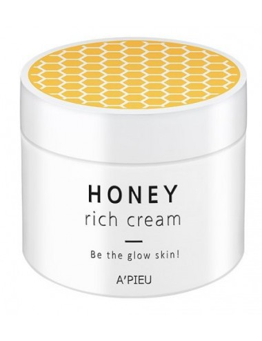 Crema Nutritiva e Iluminadora A'pieu Honey Rich Cream