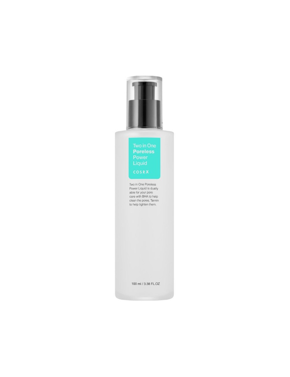 Tónico Anti Puntos Negros COSRX Two in One Poreless Power Liquid