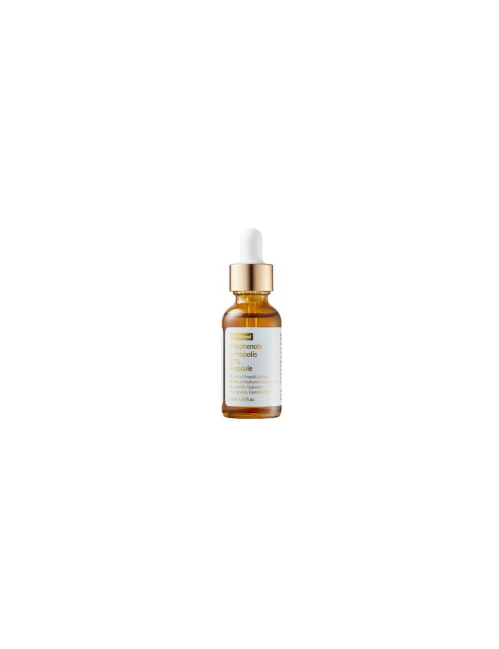 Serum Calmante con Propoleo By Wishtrend Polyphenol in Propolis 15% Ampoule