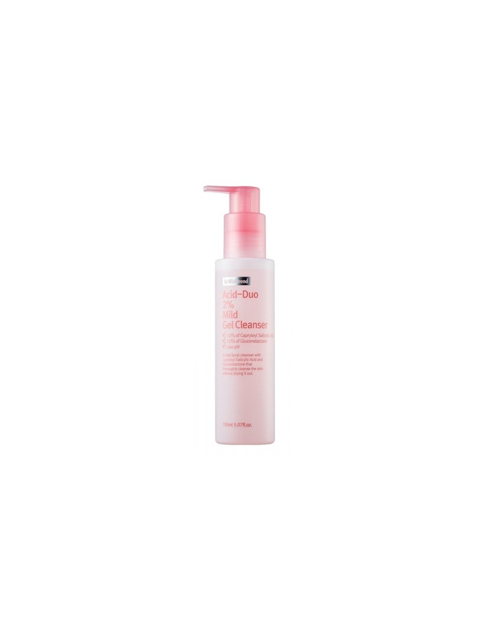 Limpiador Facial Suave By Wishtrend Acid-Duo 2% Mild Gel Cleanser