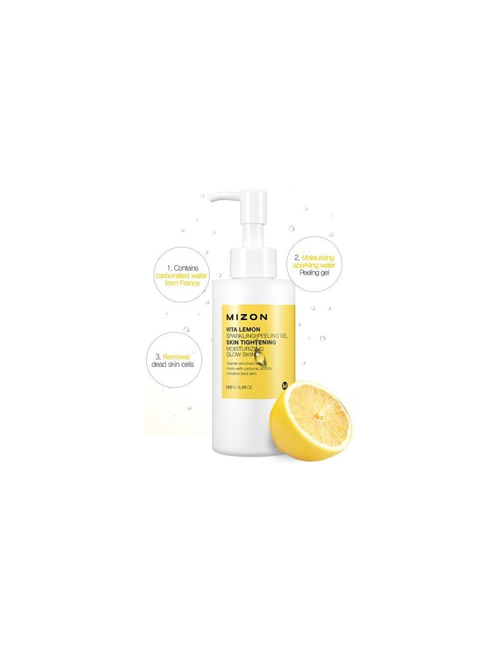 Exfoliante Facial Mizon Vita Lemon Sparkling Peeling Gel