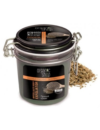 Exfoliante Corporal Reafirmante Orgánico Organic Shop Body Firming