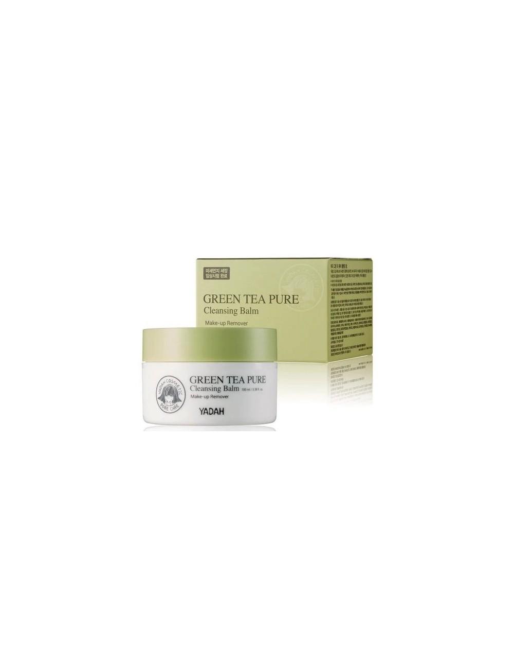Bálsamo Desmaquillante con Té Verde Yadah Green Tea Pure Cleansing Balm