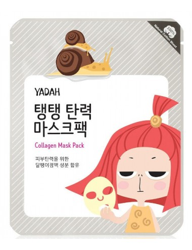Mascarilla Antiarrugas Regenerante Yadah Collagen Mask Pack