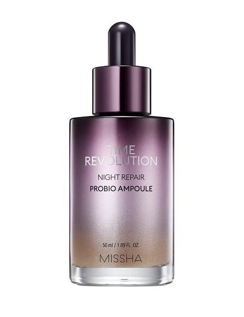 Serum Antiedad Nocturno Missha Time Revolution Night Repair Probio Ampoule
