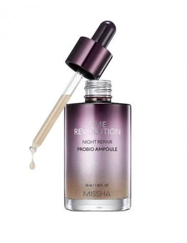 Serum Antiedad Nocturno Missha Time Revolution Night Repair Probio Ampoule