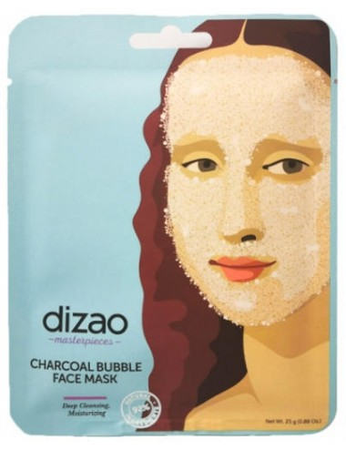 Mascarilla de Burbujas Dizao Charcoal Bubble Mask