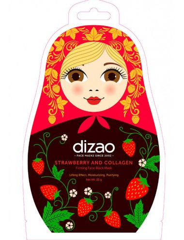 Mascarilla Lifting Dizao Strawberry and Collagen