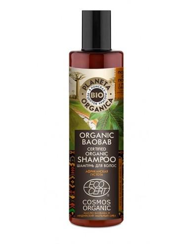 Organic Baobab Shampoo Grosor y volumen