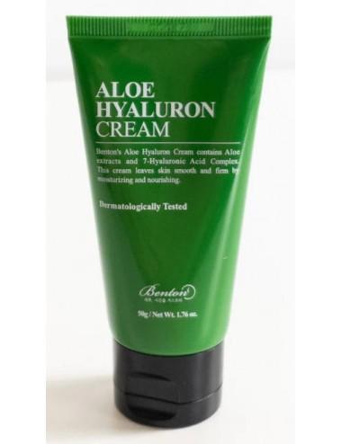 Benton Aloe Hyaluron Cream - Calmante e Hidratante