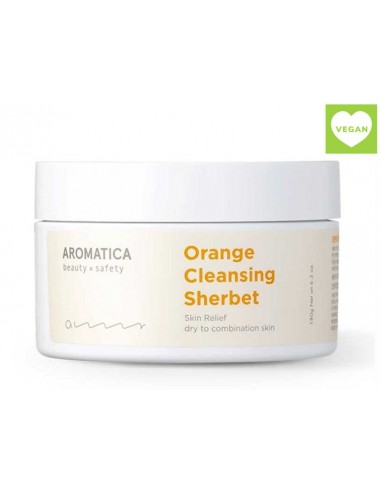 Orange Cleansing Sherbet Bálsamo Desmaquillante