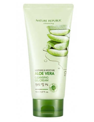 Soothing & Moisture Aloe Vera Cleansing Gel Cream