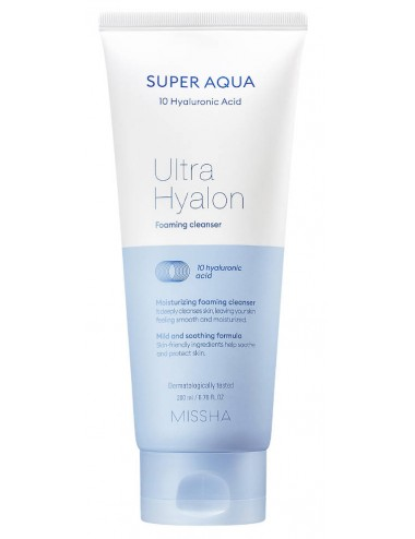 Super Aqua Ultra Hyalon Cream Foaming Cleanser