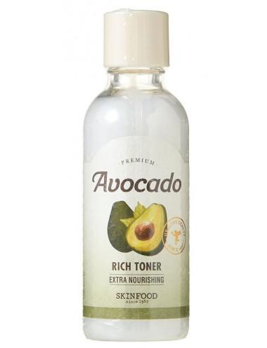 Avocado Rich Toner Tónico para piel deshidratada