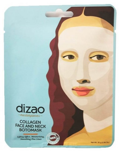 Dizao Collagen Face And Neck Botomask- Antiedad