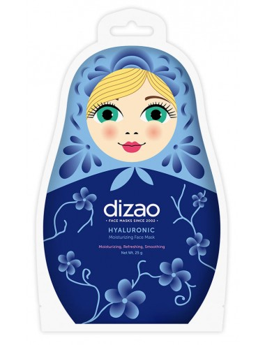 Dizao Hyaluronic Moisturizing Face Mask- Hidratación, antiedad