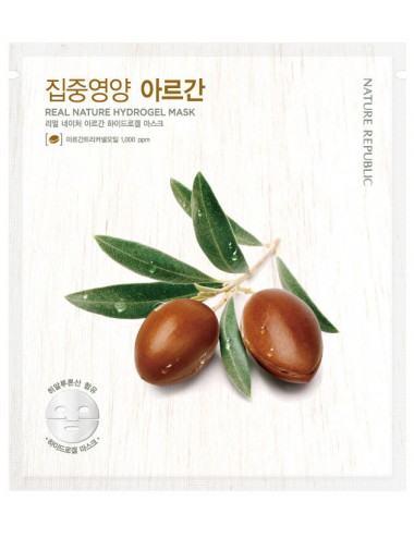 Real Nature Argan Hydrogel Mask - Hidratante y Antiedad