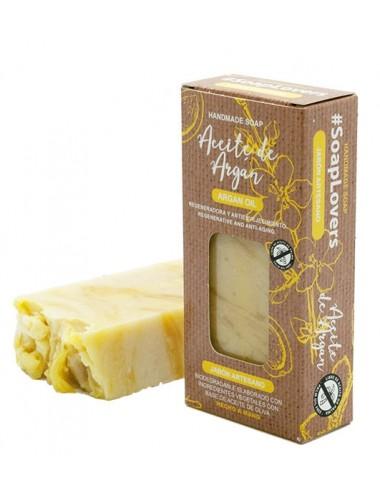 Jabón Artesanal Con Aceite de Argán- Regenerante y Anti-edad