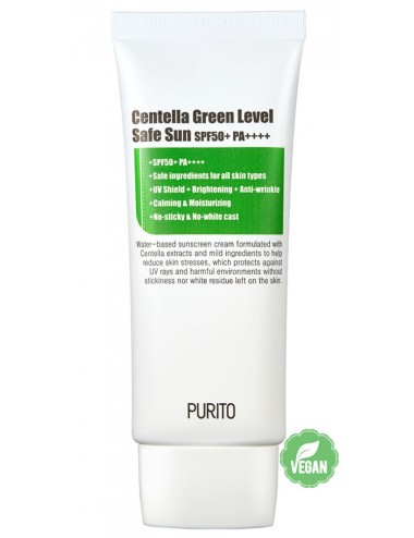 Crema Solar Purito Centella Green Level Safe Sun SPF50 + PA++++