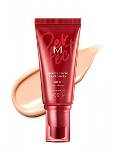 MISSHA M Perfect Cover BB Cream RX nº 22 Natural Beige SPF 42 PA +++   50ml