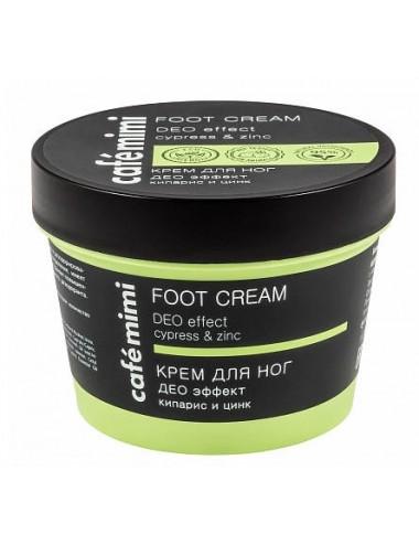 Crema para pies desodorante