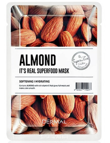 It´s Real Superfood Mask Almond - Calma e Hidrata