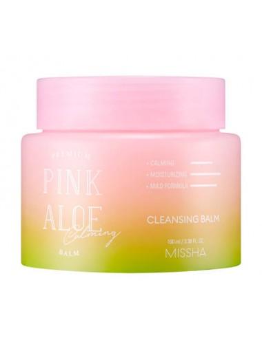 Premium Pink Aloe Cleansing Balm - Bálsamo Desmaquillante