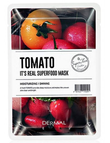 It´s Real Superfood Mask Tomato - Hidrata e Ilumina