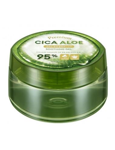 Gel de Aloe Missha Premium Cica Aloe Soothing Gel 95%