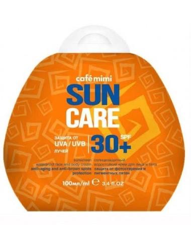 Crema Solar Cara y Cuerpo SPF 30+ Waterproof