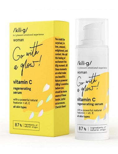 Vitamin C Regenerating Serum Vitamina C, E y Ácido Hialurónico