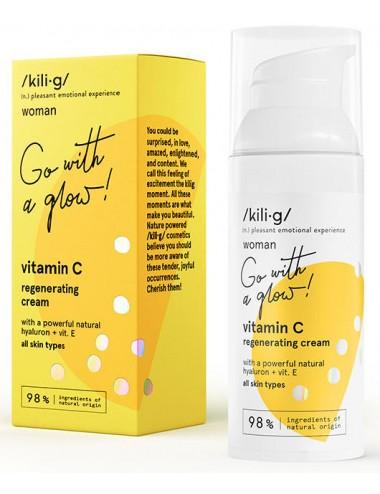 Vitamin C Regenerating Cream Vitamina C, E y Ácido Hialurónico