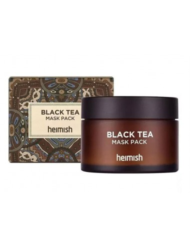 Heimish Black Tea Mask Pack- Reafirmante y Calmante