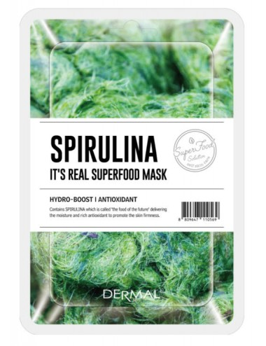 It´s Real Superfood Mask Spirulina - Antioxidante e Hidratante