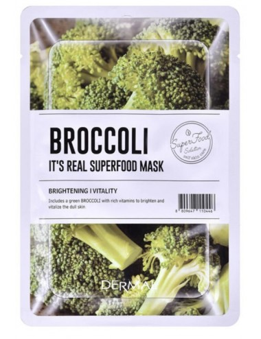 It´s Real Superfood Mask Broccoli - Revitalizante e Iluminadora