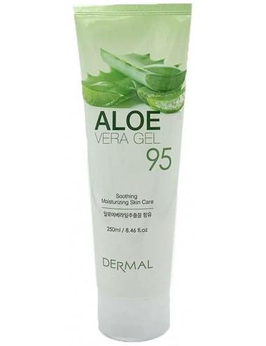 Aloe Vera Gel 95% Tube - Calmante e Hidratante
