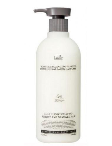 La'dor Moisture Balancing Shampoo 530ml. Pelo seco y dañado