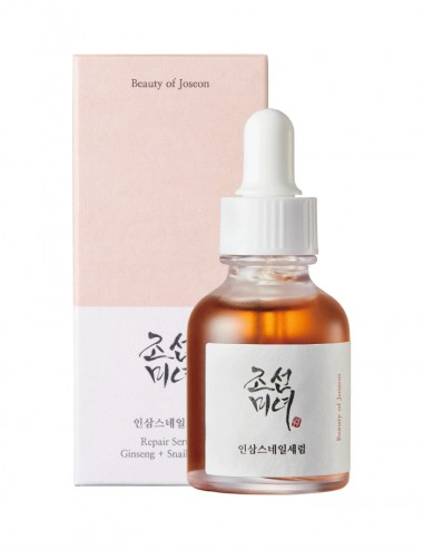 BEAUTY OF JOSEON Ginseng + Snail Repair Serum