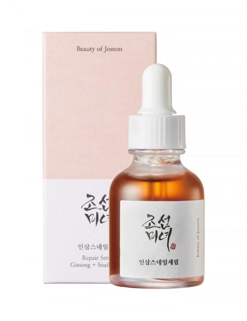 BEAUTY OF JOSEON Ginseng + Snail Repair Serum