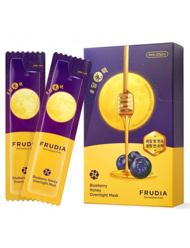 Frudia Blueberry Honey Overnight Mask- Hidratante y Luminosidad 20 unidades