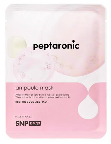 SNP Prep Peptaronic Ampoule Mask - Mascarilla Reafirmante.