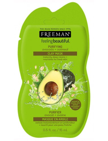Freeman Purifying Avocado Otameal Clay Mask- Piel Normal y Mixta