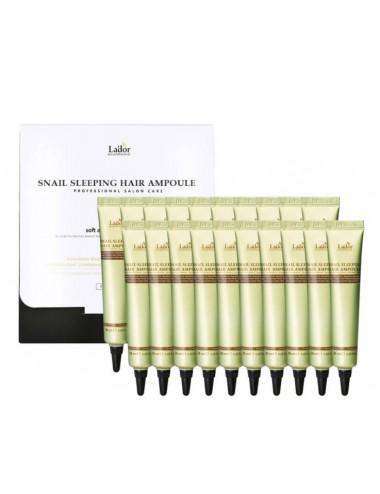 La'dor Snail Sleeping Hair Ampoule - Tratamiento Intensivo Nocturno para pelo
