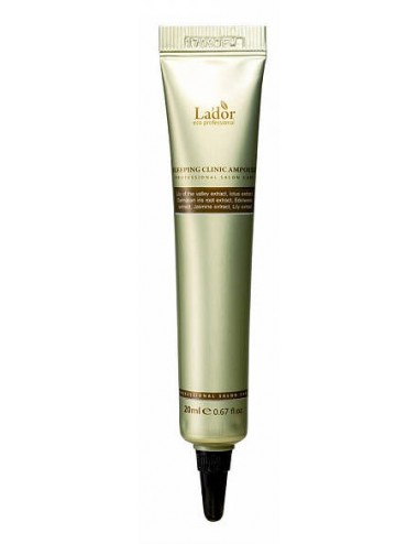 La'dor Snail Sleeping Hair Ampoule 20ml- Tratamiento Intensivo Nocturno para pelo