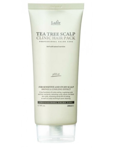 La'dor Tea Tree Scalp Clinic Hair Pack - Cuero Cabelludo Sensible e Irritado