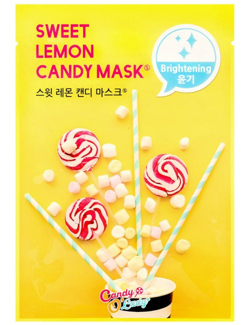 Sweet Lemon Candy Mask Luminosidad, Antimanchas