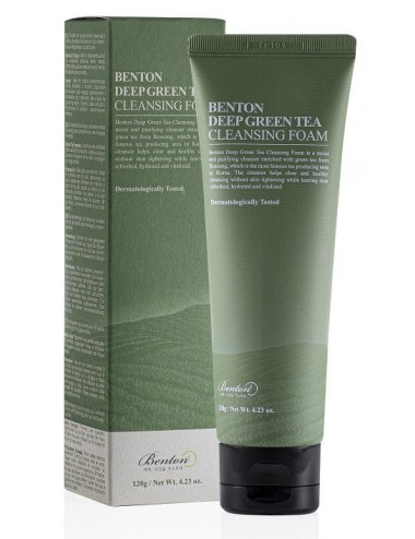 Benton Deep Green Tea Foam 120 gr